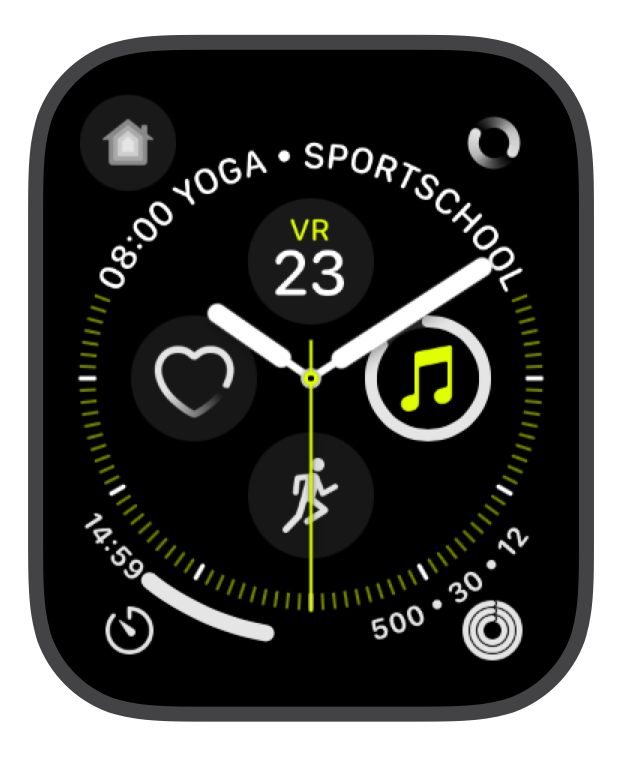Nice looking watchface