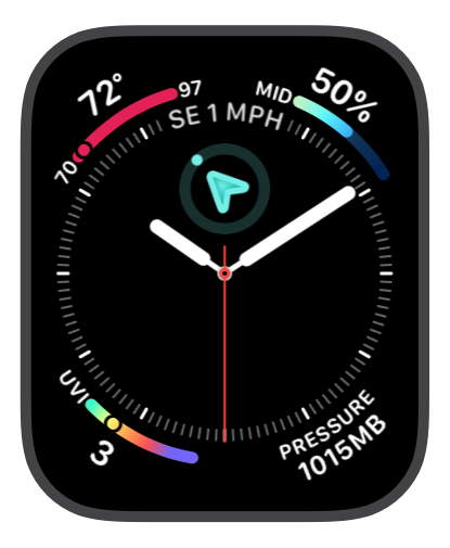 Infograph watchface from Weather mini